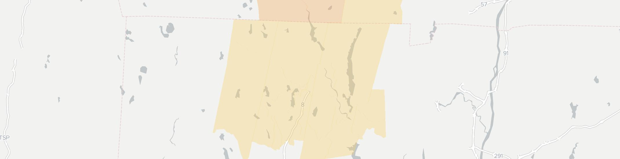 Winsted Internet Competition Map. Click for interactive map.