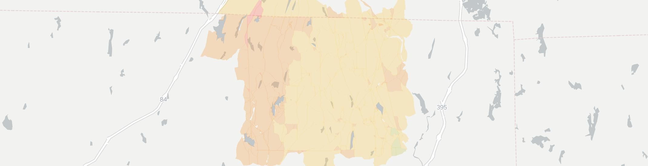 Woodstock Internet Competition Map. Click for interactive map.