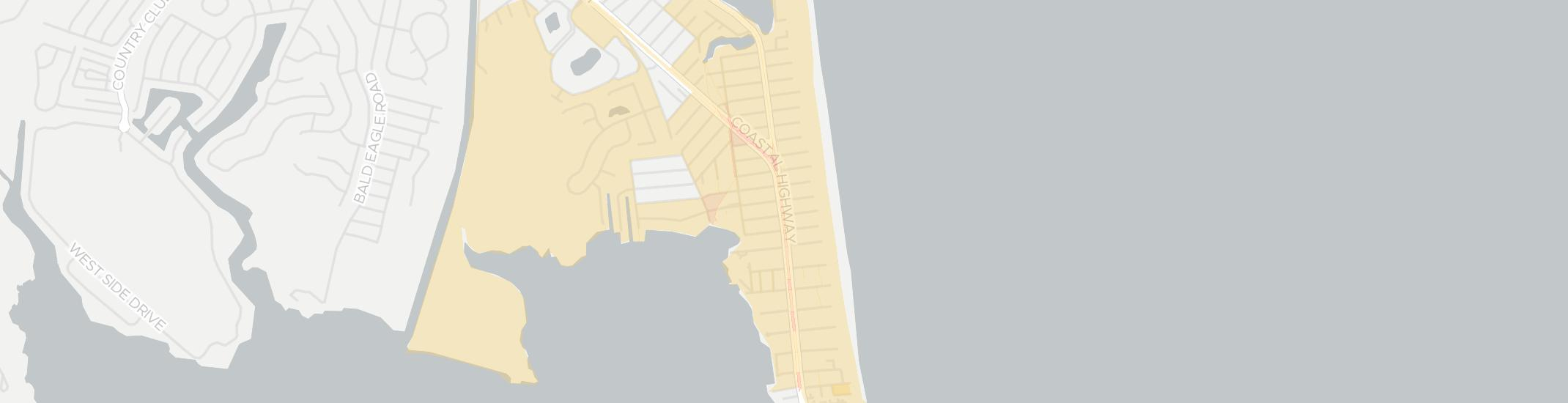 Dewey Beach Internet Competition Map. Click for interactive map.