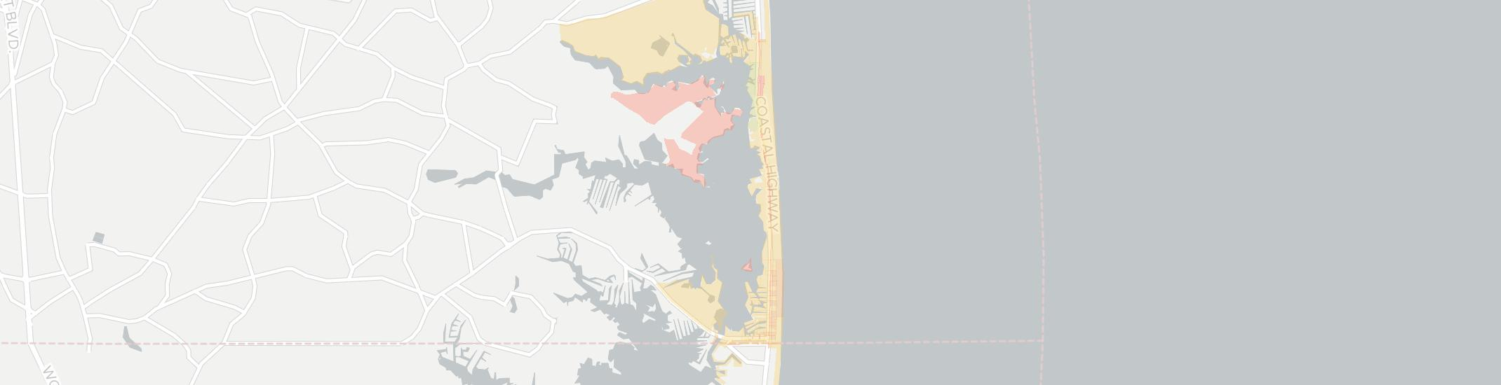 Fenwick Island Internet Competition Map. Click for interactive map.