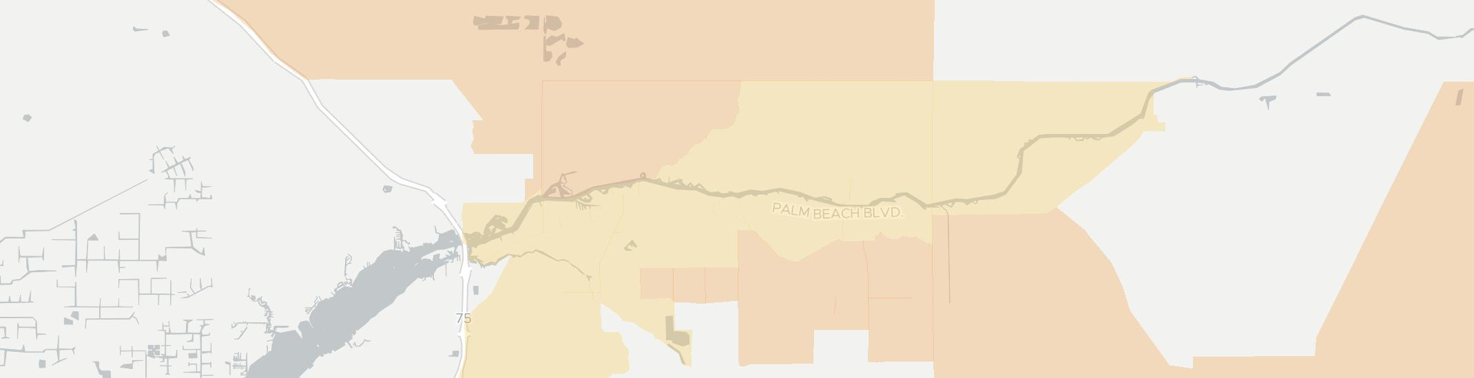 Alva Internet Competition Map. Click for interactive map.