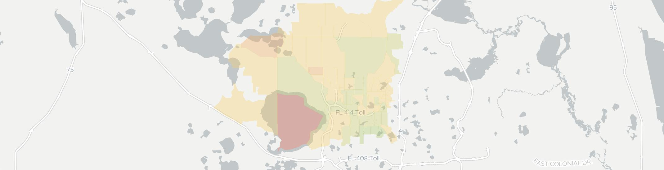Apopka Internet Competition Map. Click for interactive map.