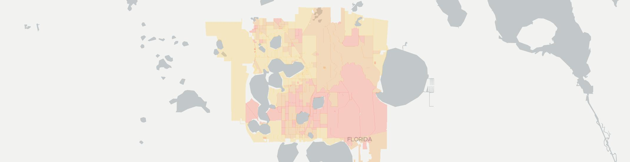 Babson Park Internet Competition Map. Click for interactive map.