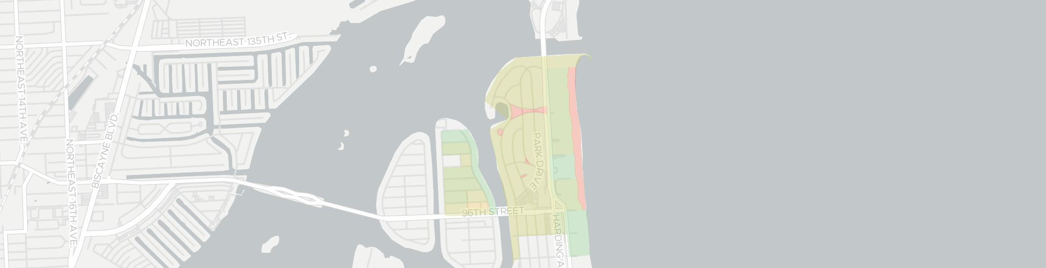 Bal Harbour Internet Competition Map. Click for interactive map.