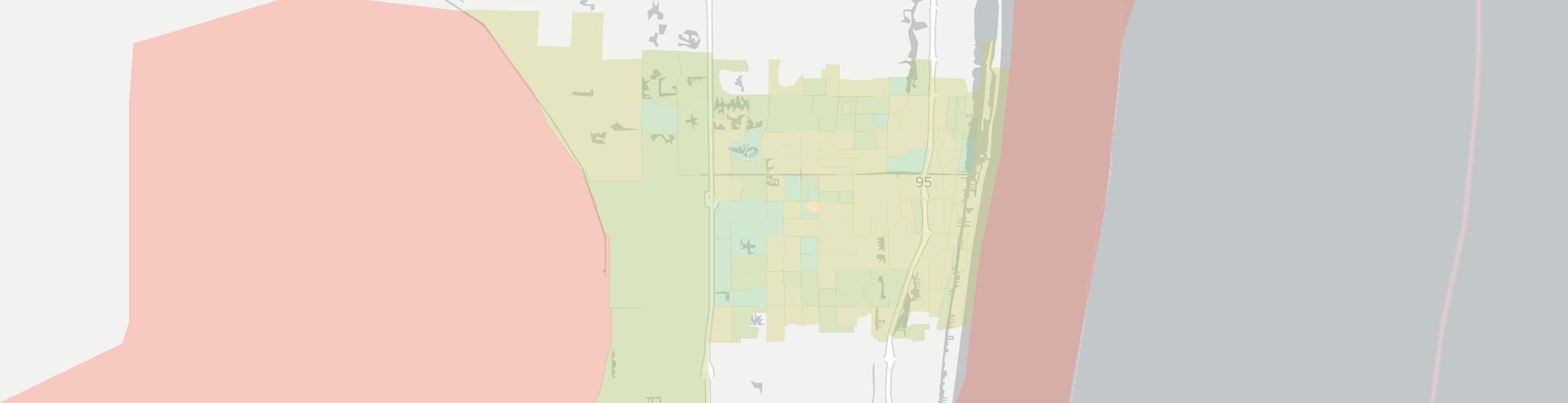 Boynton Beach Internet Competition Map. Click for interactive map.