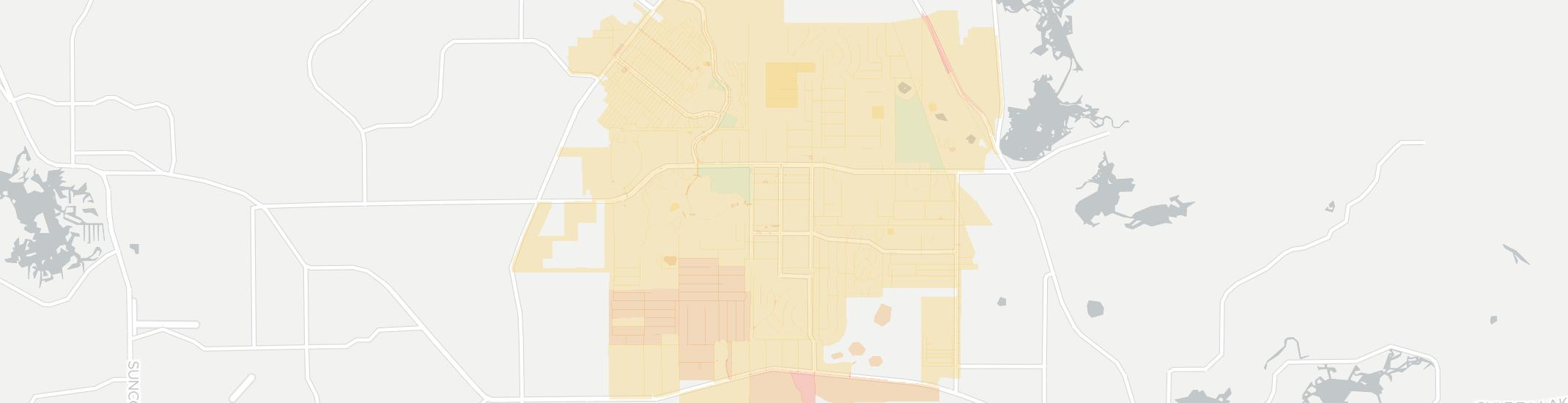 Citrus Hills Internet Competition Map. Click for interactive map.