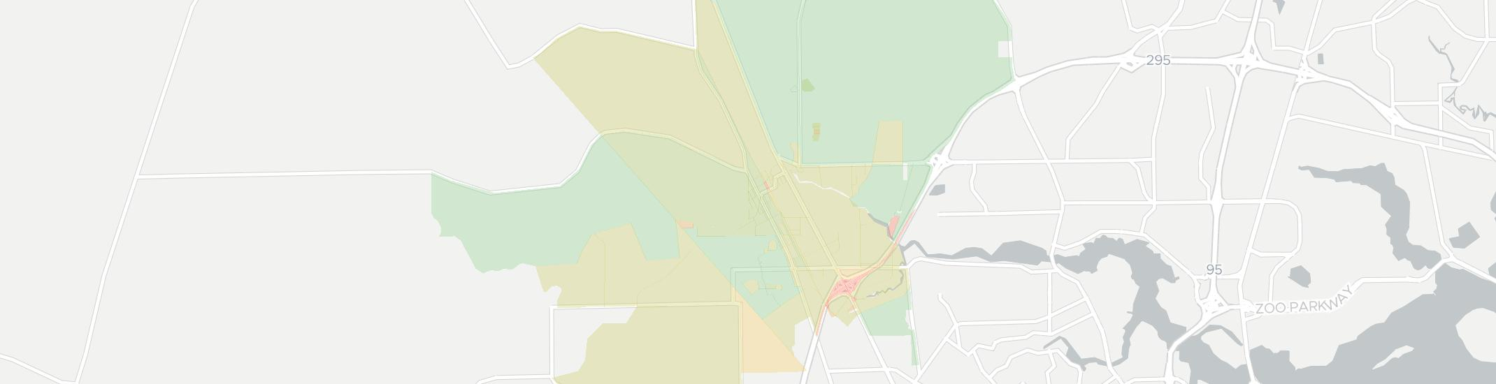 Dinsmore Internet Competition Map. Click for interactive map.