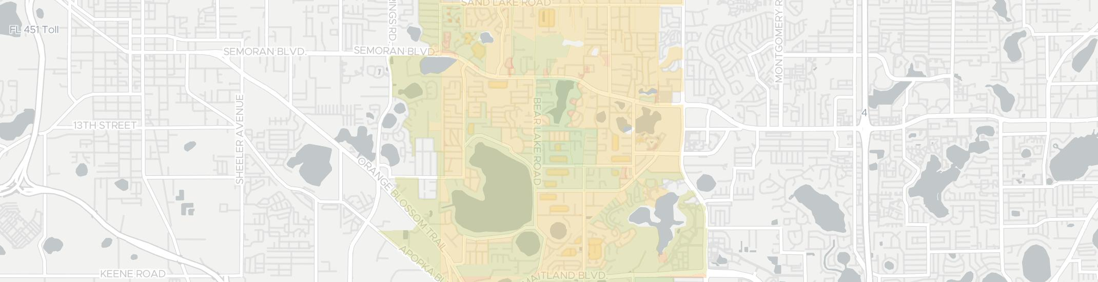 Forest City Internet Competition Map. Click for interactive map.