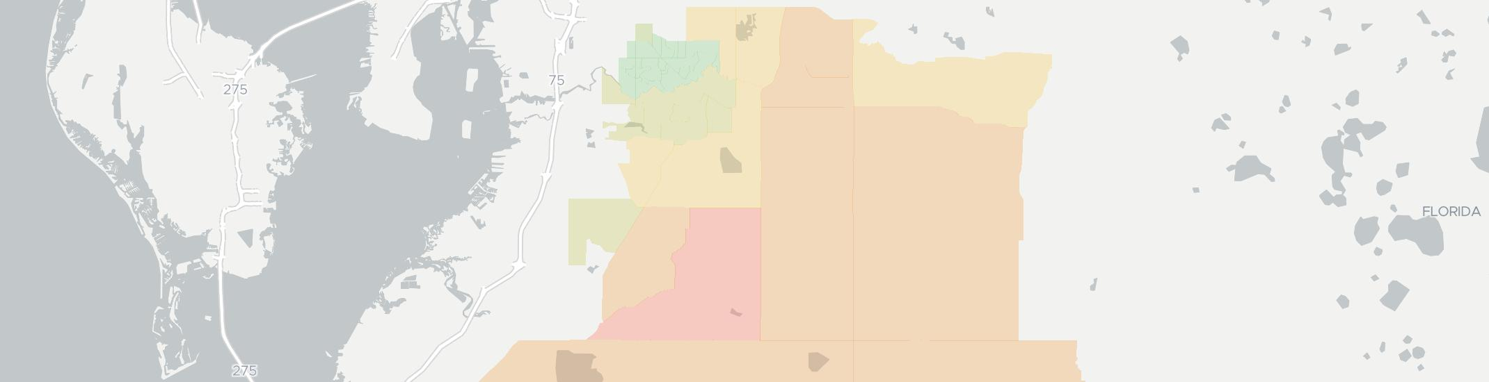 Lithia Internet Competition Map. Click for interactive map.