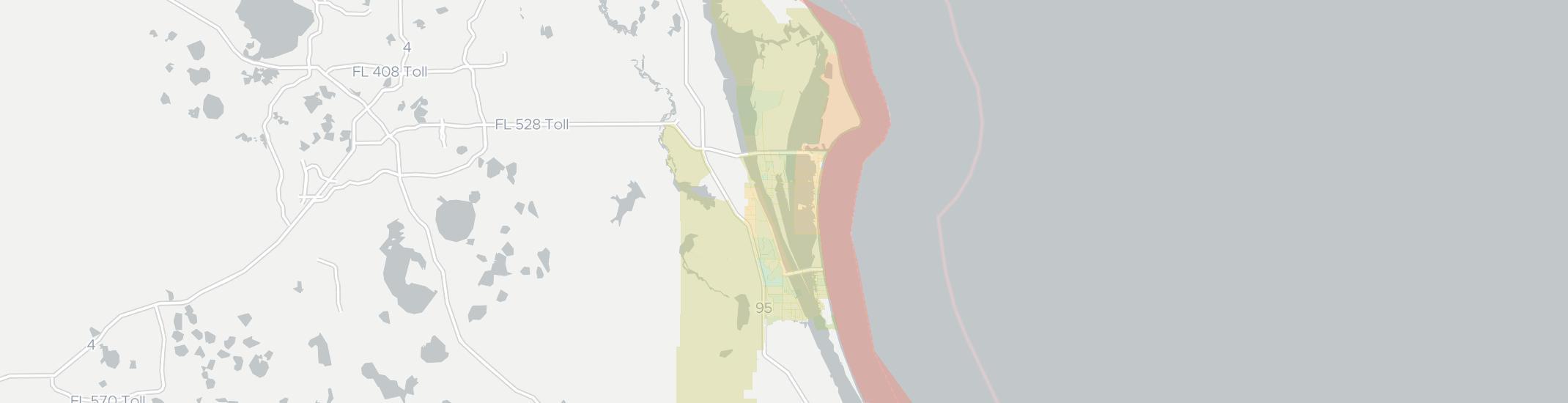 Map Of Merritt Island Florida.Merritt Island Fl Has 15 Internet Service Providers From 44 99