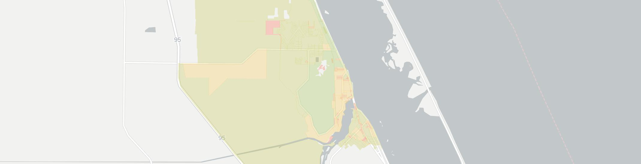 Micco Internet Competition Map. Click for interactive map.