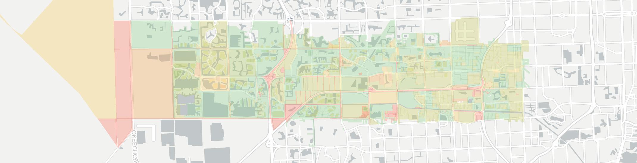 Map Of Miramar Florida.Internet Providers In Miramar Fl Compare 17 Providers