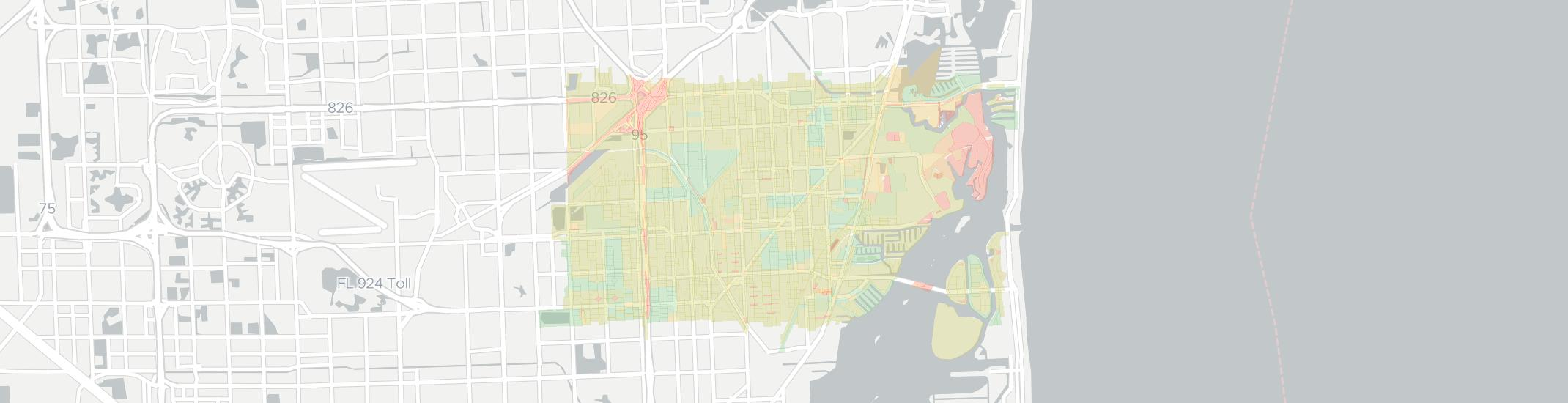 North Miami Internet Competition Map. Click for interactive map.