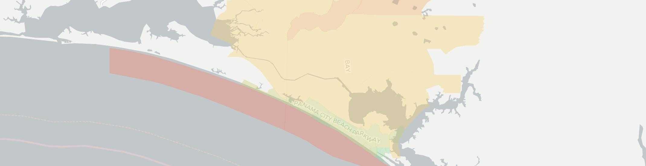 Map Of Panama City Beach Florida.Internet Providers In Panama City Beach Compare 14 Providers