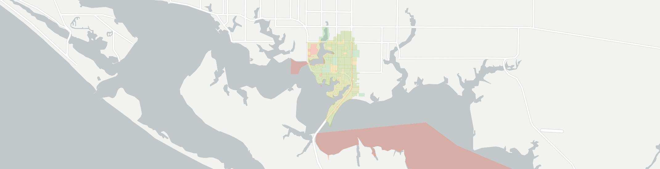 Parker Internet Competition Map. Click for interactive map.