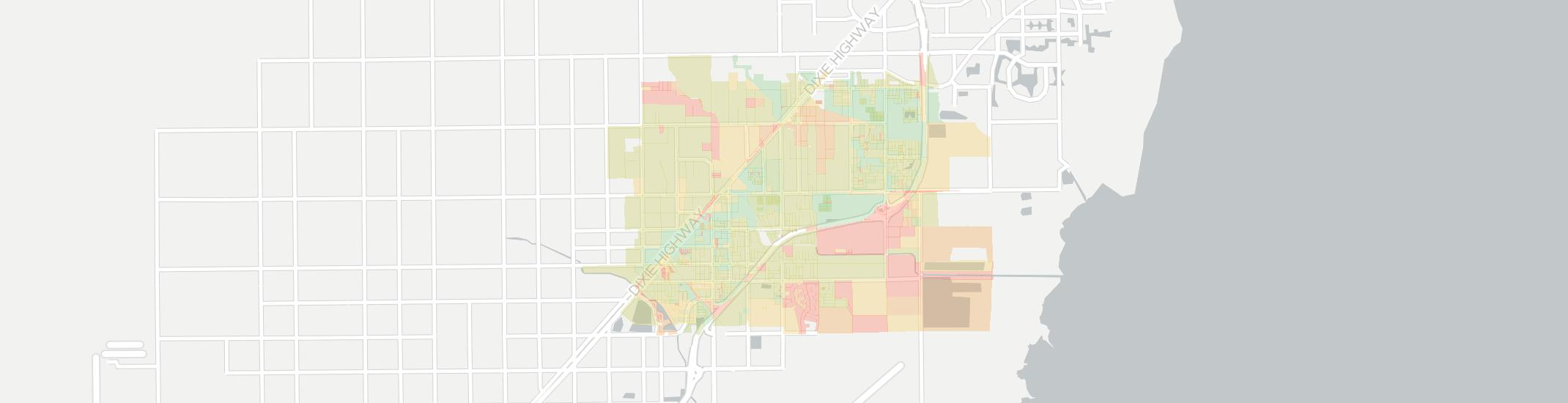 Princeton Internet Competition Map. Click for interactive map.