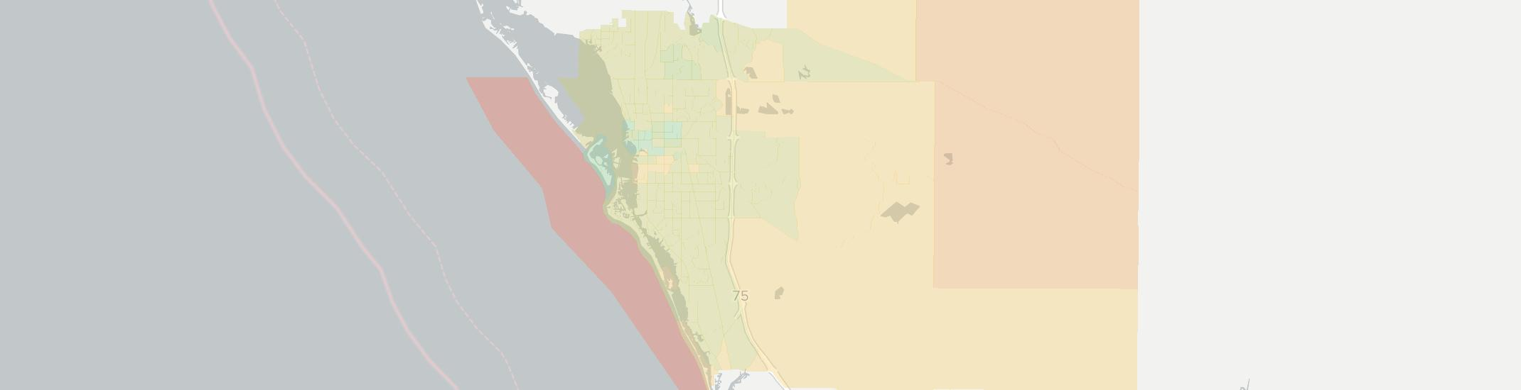 Sarasota Internet Competition Map. Click for interactive map.