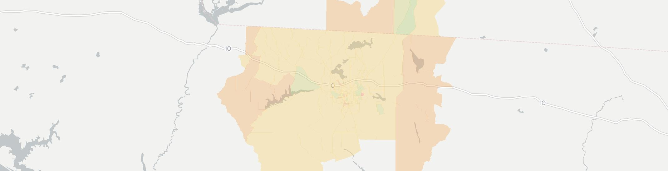 Tallahassee Internet Competition Map. Click for interactive map.