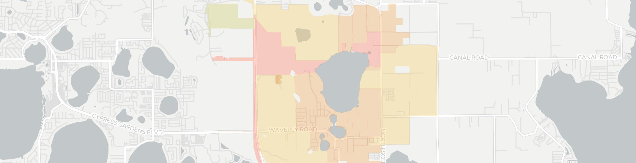Waverly Internet Competition Map. Click for interactive map.