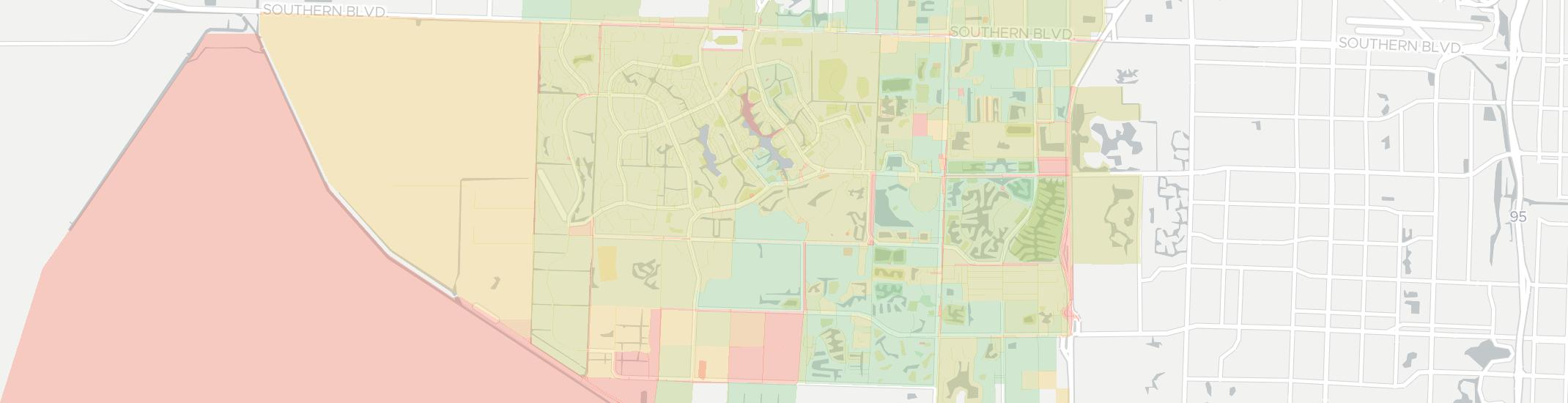 Map Of Wellington Florida.Wellington Has 15 Internet Service Providers Up To 1 000 Mbps