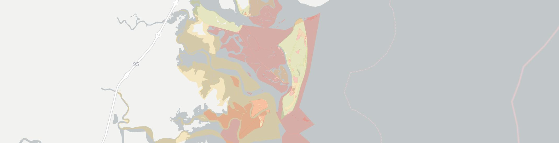 Jekyll Island Internet Competition Map. Click for interactive map.