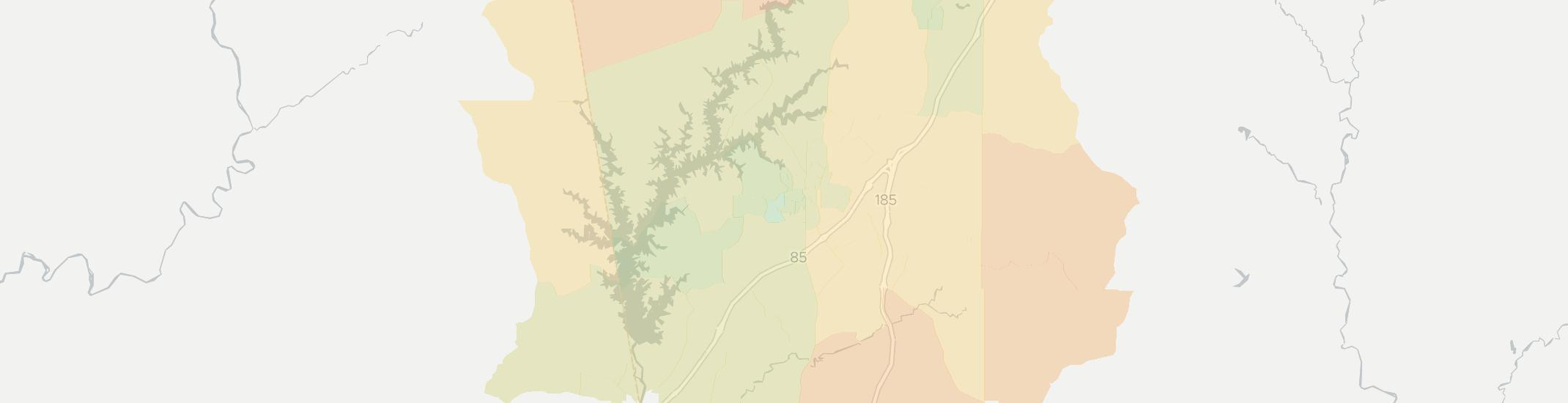 Lagrange Internet Competition Map. Click for interactive map.