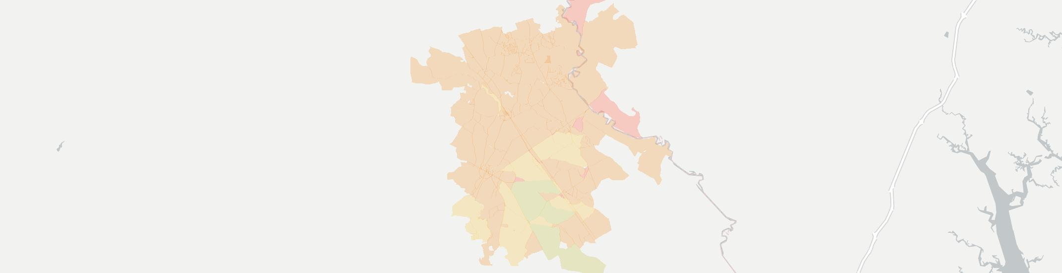 Newington Internet Competition Map. Click for interactive map.