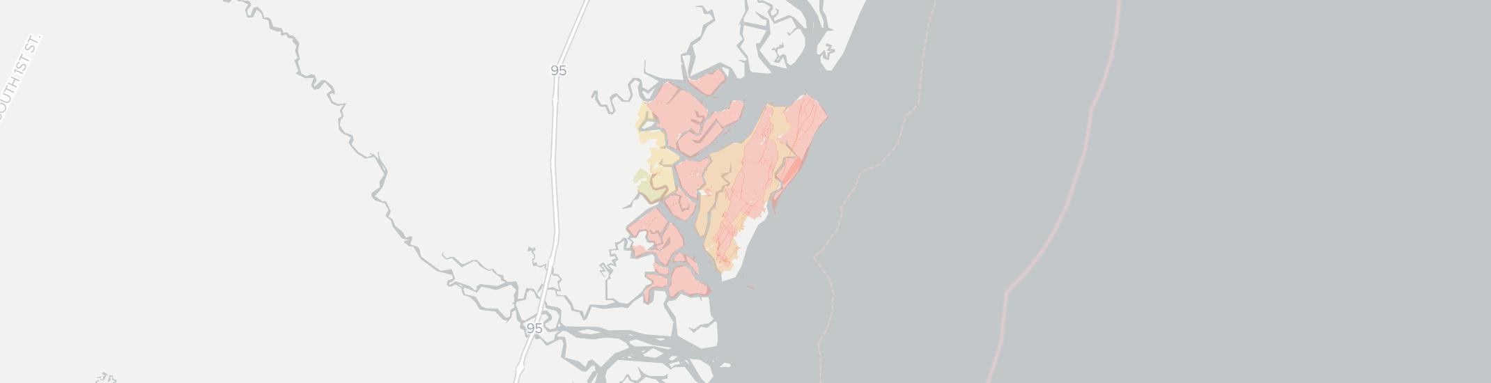 Sapelo Island Internet Competition Map. Click for interactive map.