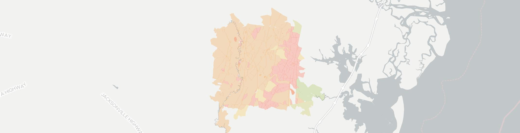 Waynesville Internet Competition Map. Click for interactive map.