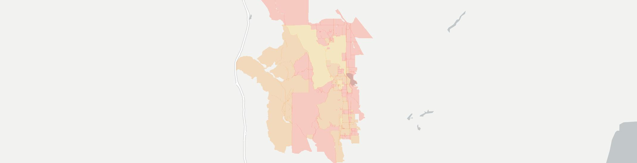Clifton Internet Competition Map. Click for interactive map.