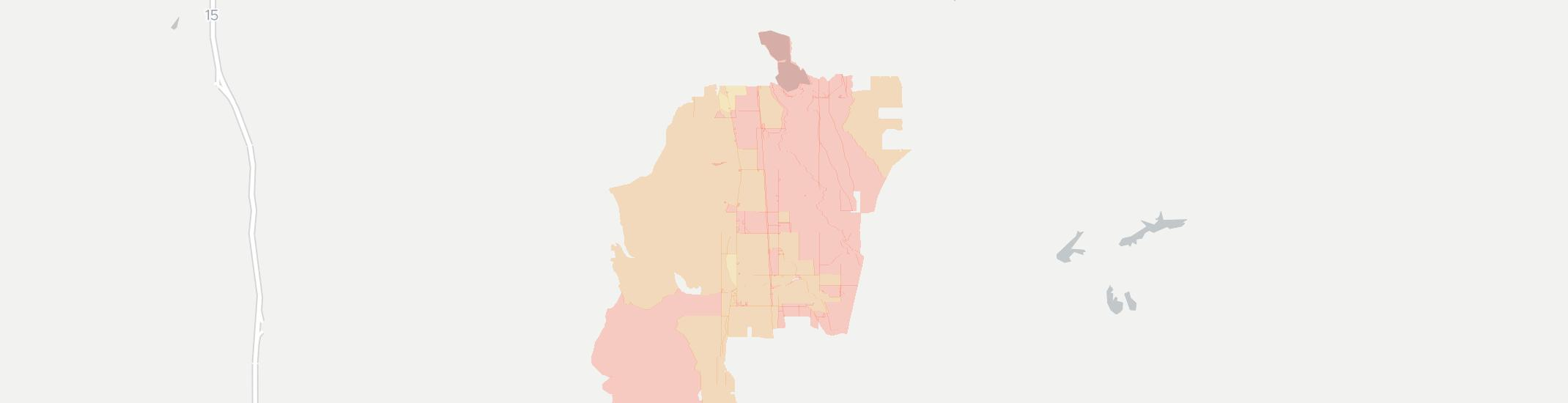 Dayton Internet Competition Map. Click for interactive map.