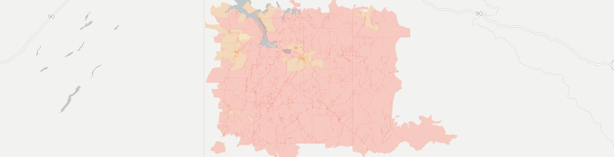 Saint Maries Internet Competition Map. Click for interactive map.