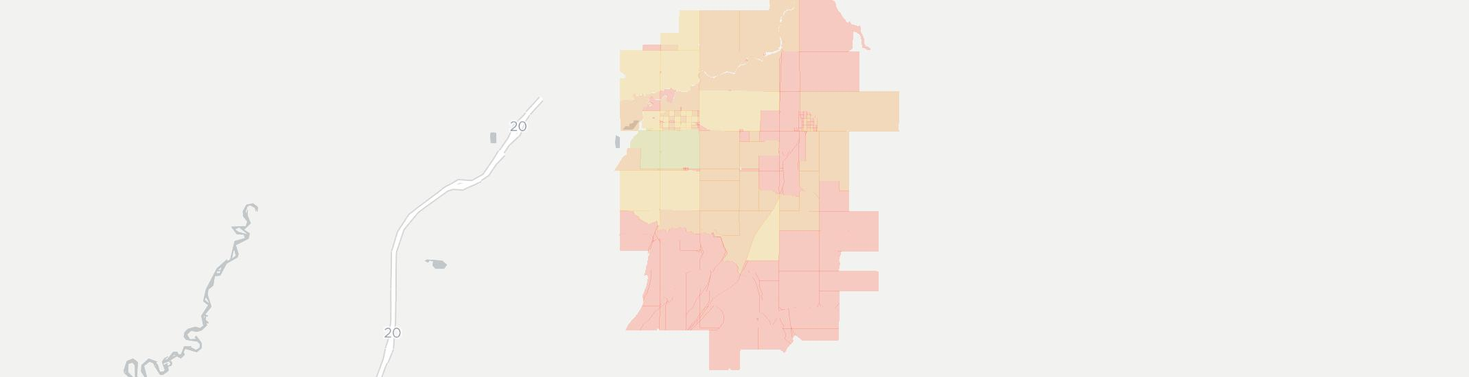 Teton Internet Competition Map. Click for interactive map.