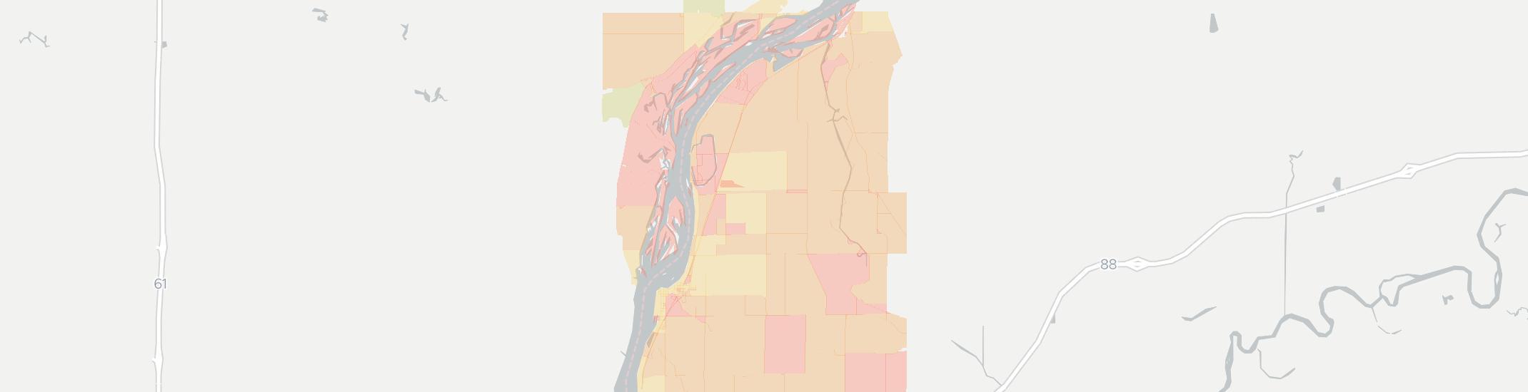 Cordova Internet Competition Map. Click for interactive map.