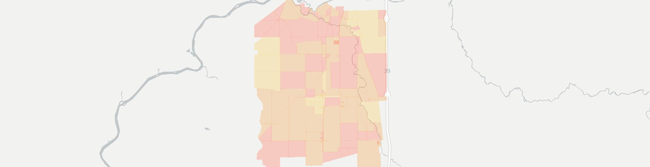Davis Junction Internet Competition Map. Click for interactive map.