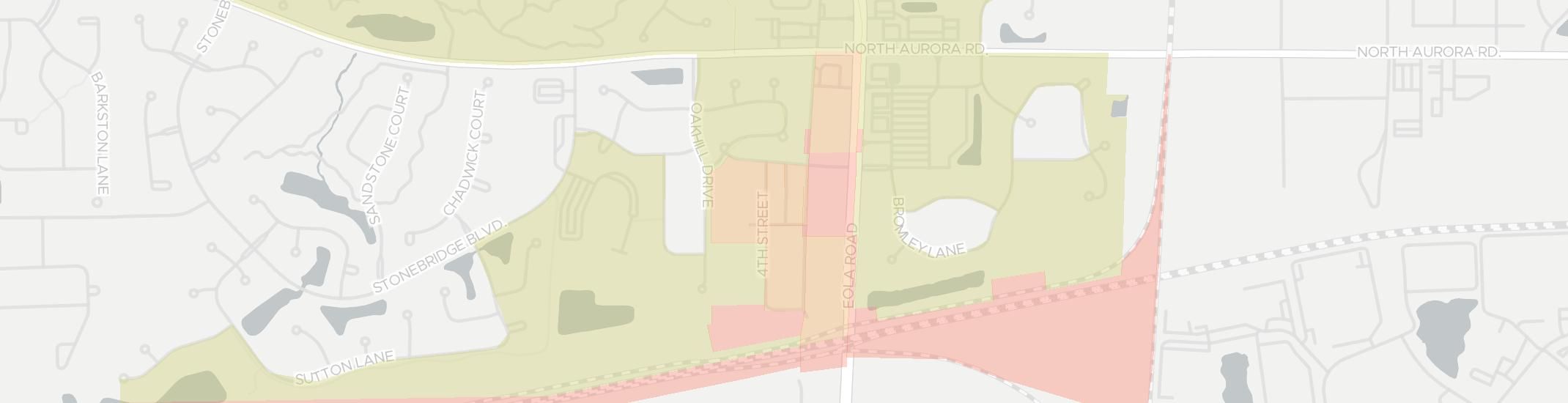 Eola Internet Competition Map. Click for interactive map.