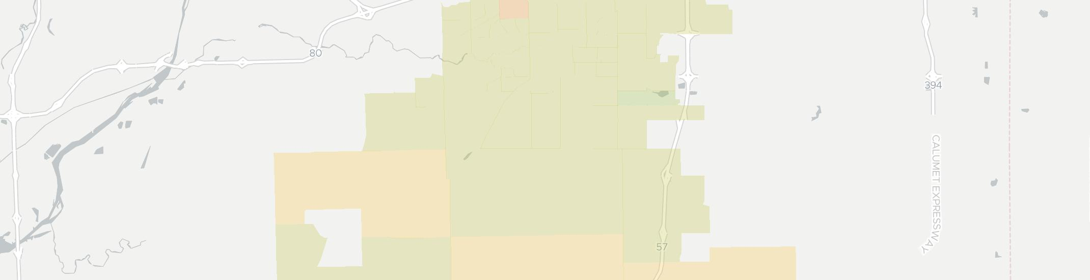 Frankfort Internet Competition Map. Click for interactive map.