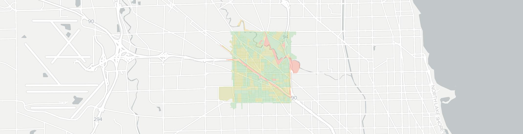 Jefferson Park Internet Competition Map. Click for interactive map.