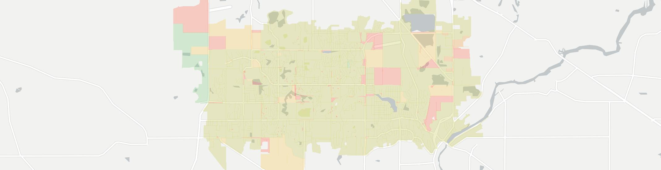 Lake In The Hills Internet Competition Map. Click for interactive map.