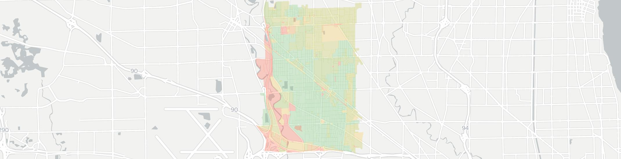 Park Ridge Internet Competition Map. Click for interactive map.