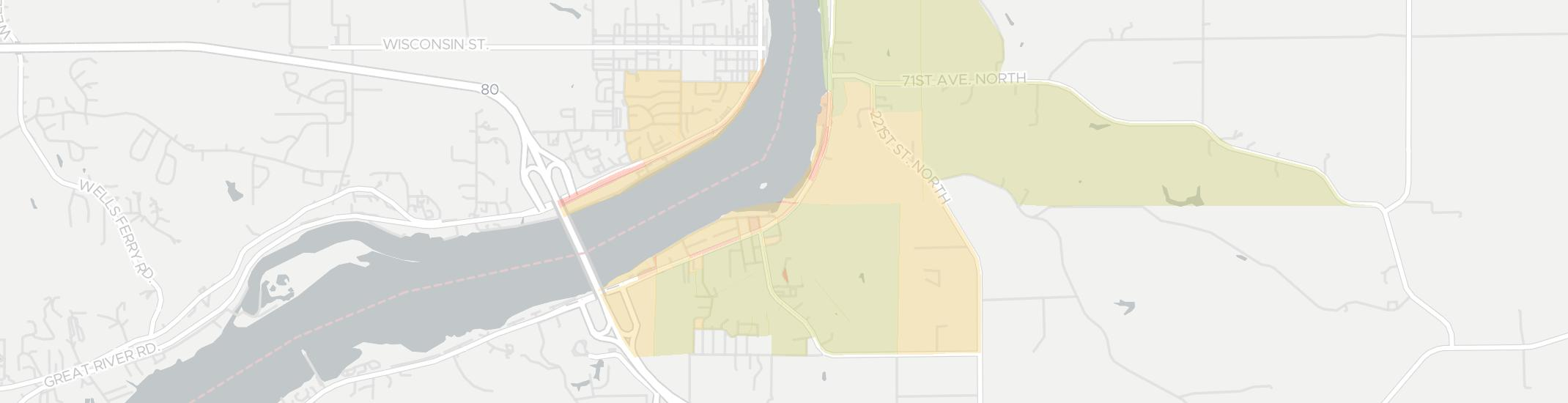 Rapids City Internet Competition Map. Click for interactive map.