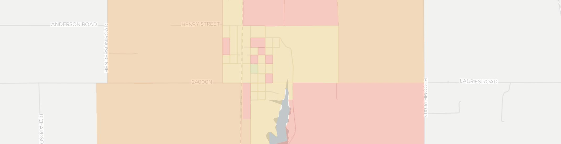 Standard City Internet Competition Map. Click for interactive map.