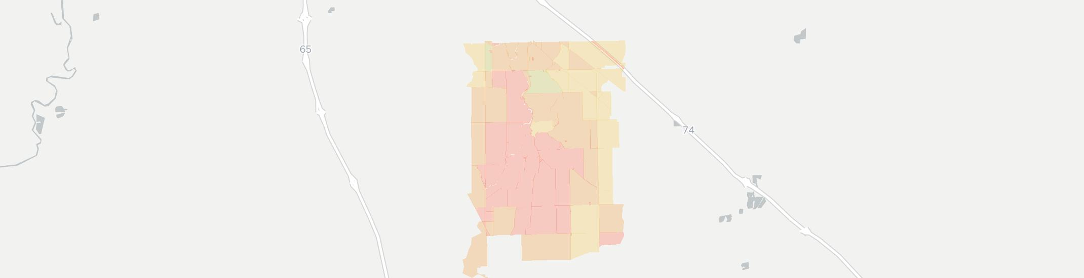 Boggstown Indiana Map.Boggstown In Has 11 Internet Service Providers From 49 99