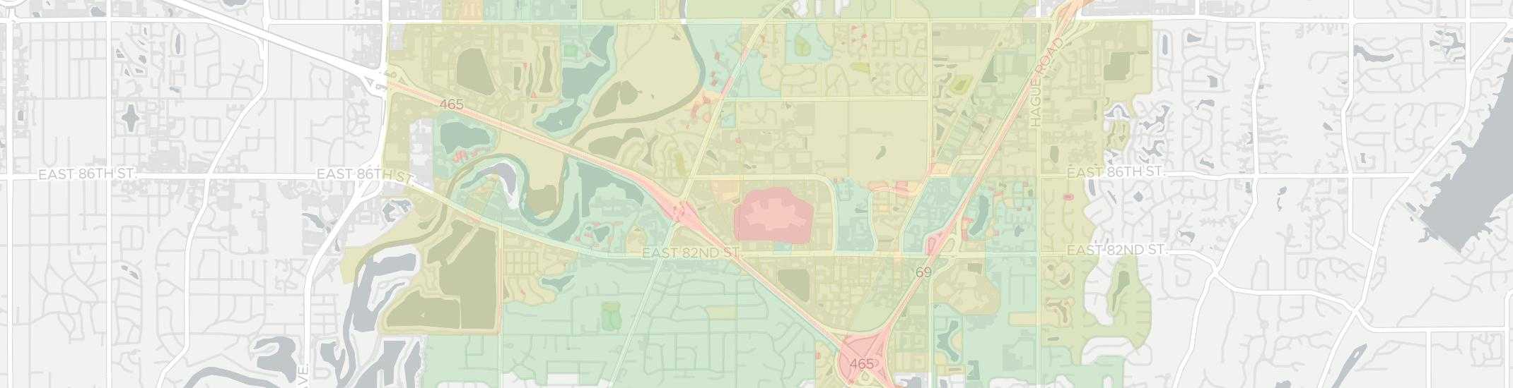 Castleton Internet Competition Map. Click for interactive map.