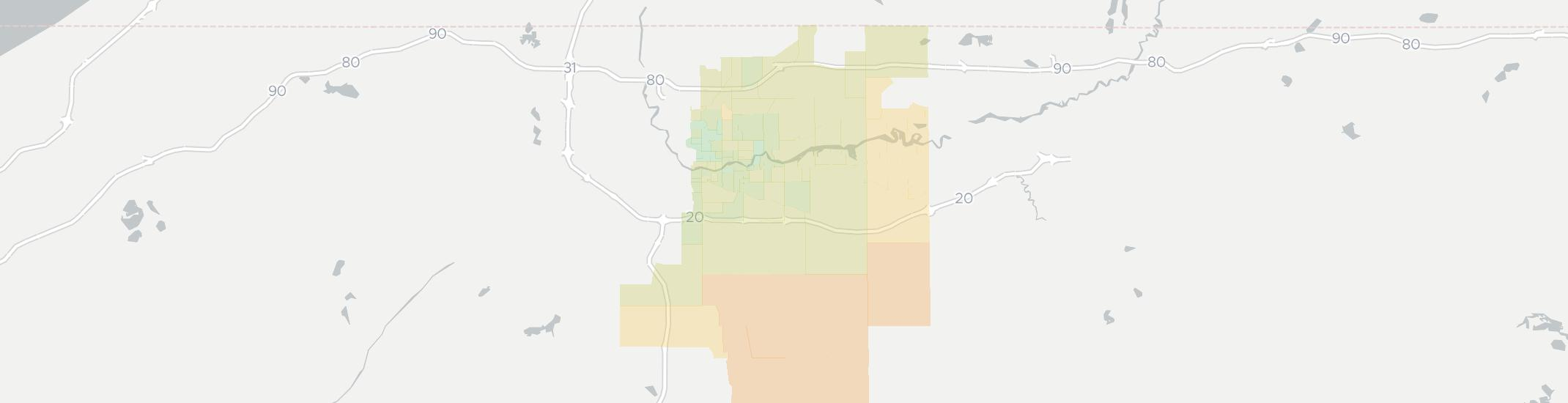 Mishawaka Zip Code Map.Internet Providers In Mishawaka Compare 22 Providers