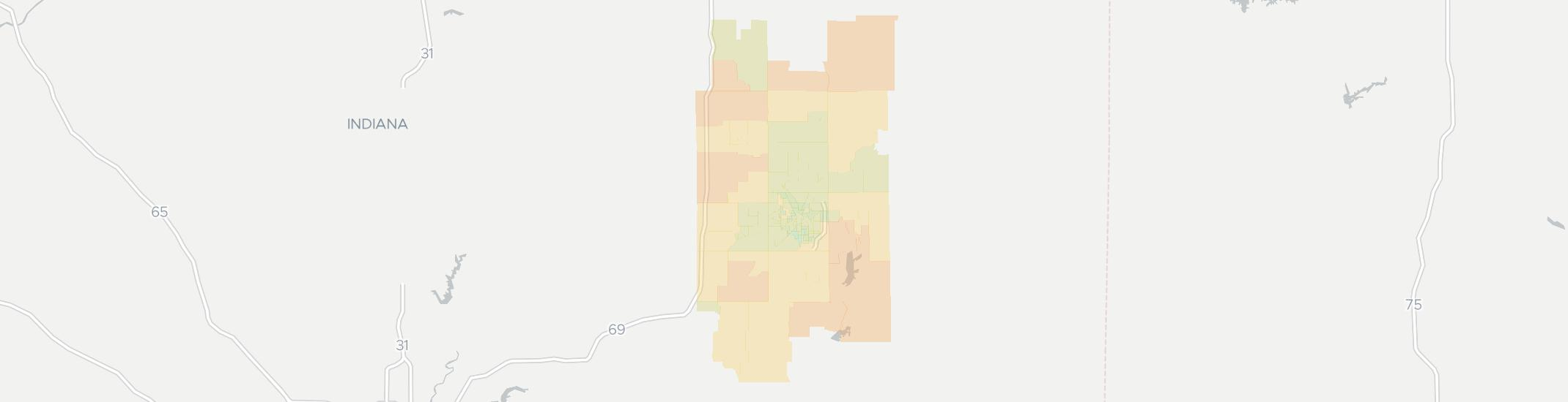 Muncie Zip Code Map.Internet Providers In Muncie In Compare 20 Providers