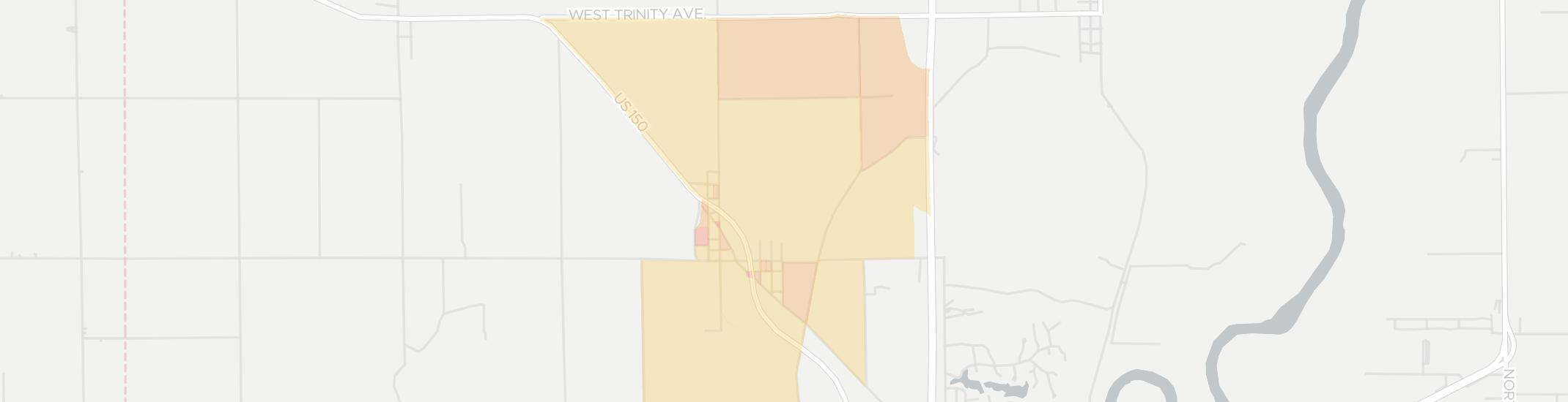 New Goshen Internet Competition Map. Click for interactive map.