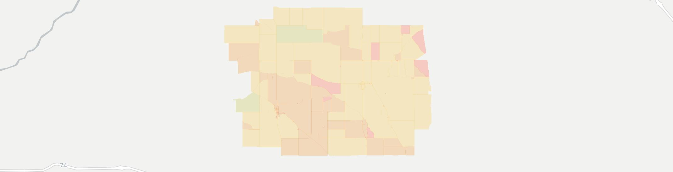New Richmond Internet Competition Map. Click for interactive map.