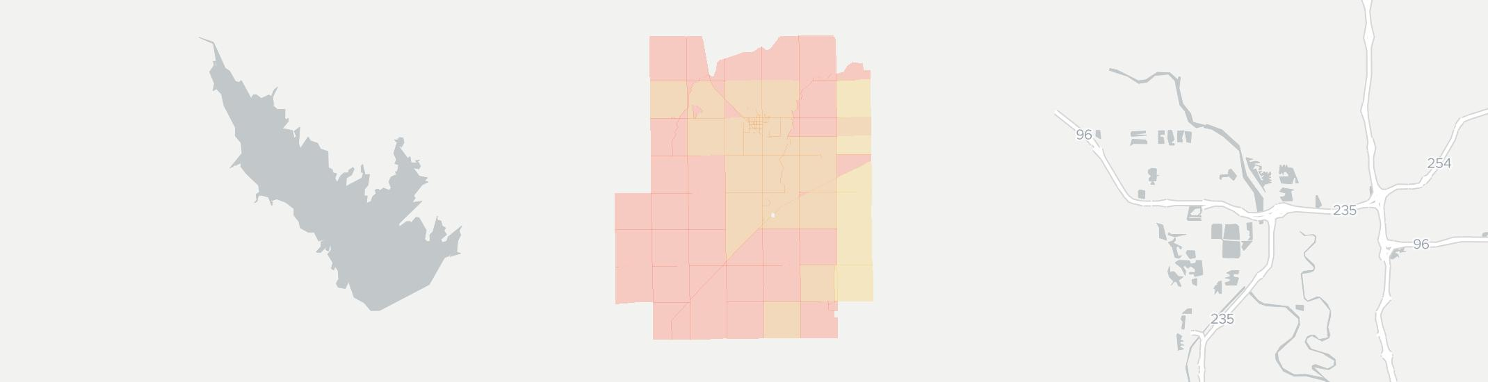 Andale Internet Competition Map. Click for interactive map.