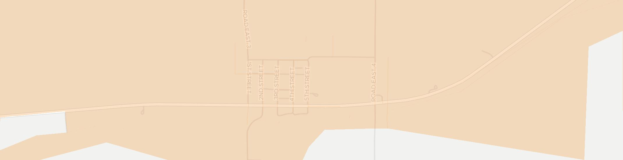 Edmond Internet Competition Map. Click for interactive map.